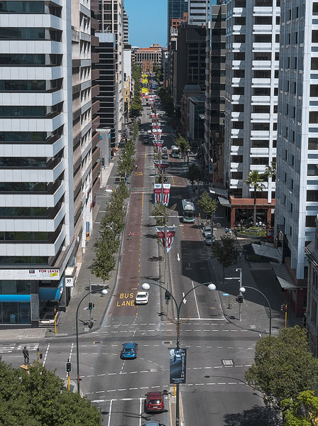 St Georges Terrace Streetscapes